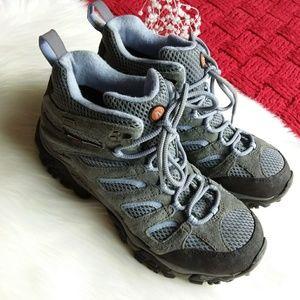 Merrell | Gray Waterproof Hiking Shoe